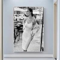 silk cloth wall poster julia bergshoeff sexy model star art home decoration gift