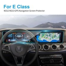 Car GPS Navigation Screen Protector for Mercedes W212 W213 E Class Auto Screen Tempered Glass Protec