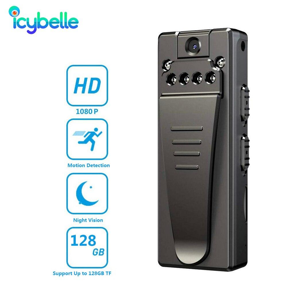 Icybelle 1080P Mini Camera Infrared Secret Camera Pen HD Sports DVR Camcorder Micro Video Voice Port