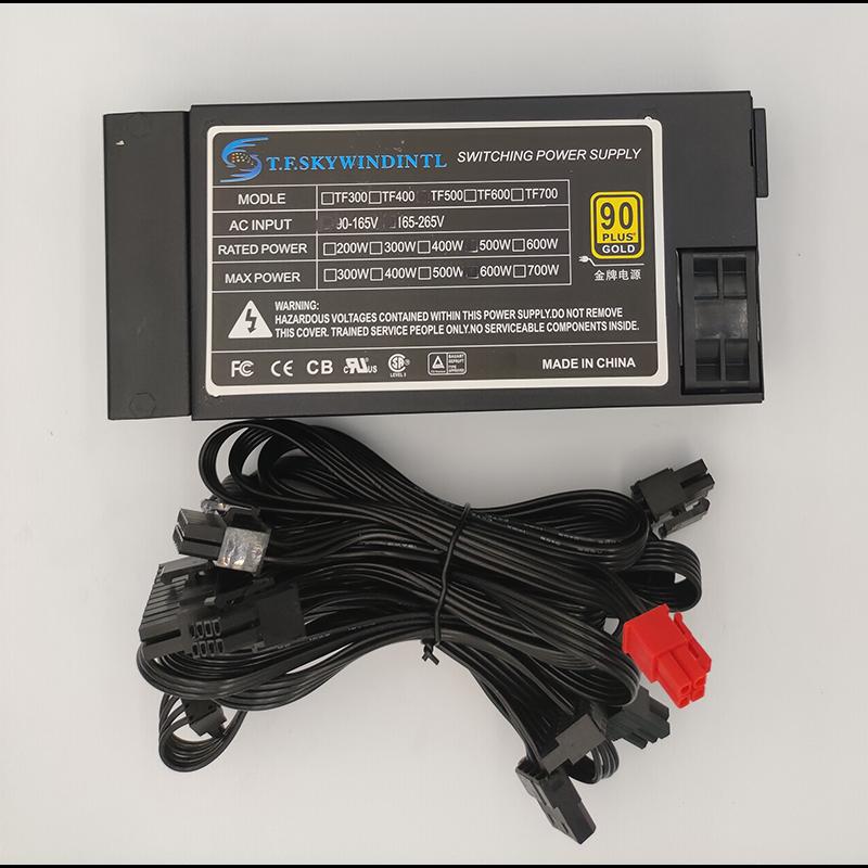 500W ATX PSU MINI 1U FLEX ITX ATX Mini PC Power Supply 600W 500W Full modular FLEX 1U 500W POWER SUPPLY FOR SERVER NAS POS 110V
