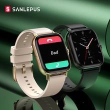 2021 NEW SANLEPUS Smart Watch Men Women Bluetooth Calls Smartwatch IP68 Waterproof Fitness Bracelet
