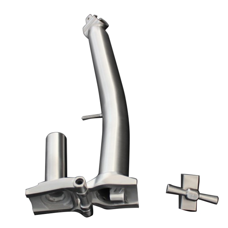 Vástago de HOT-S para Brompton para manillar de 25,4 Mm, vástago de titanio para bicicleta plegable Brompton, tubo de cabeza, manillar, peso ligero, Titaniu