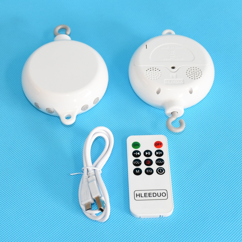 Caja de música de Control remoto de juguete para bebé, niño, niña, juguete de campana móvil