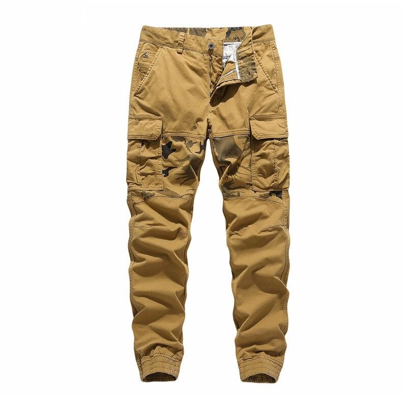 Pantalones de algodón de los hombres pantalones de trabajo de Primavera de...
