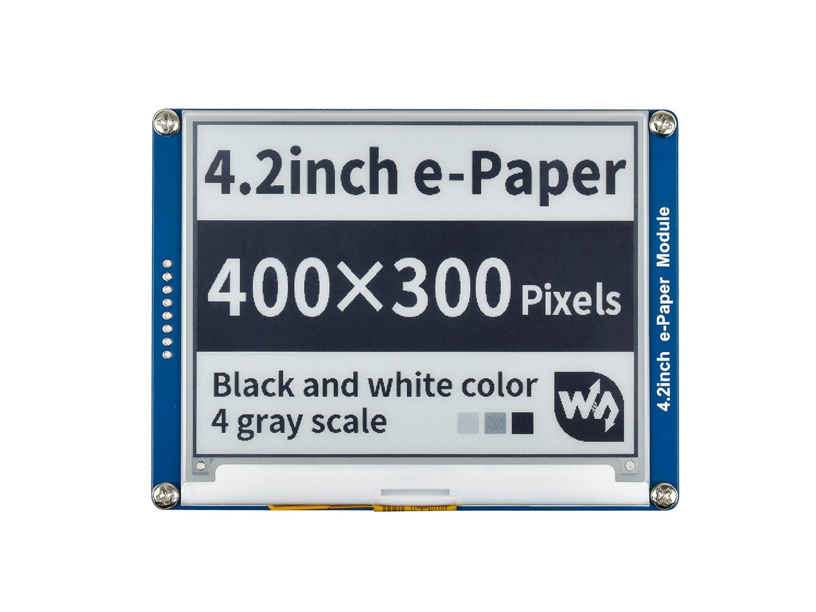Waveshare 4.2inch E-Ink Display Module e-paper for Raspberry Pi Jetson Nano Black/White two colors SPI Interface 400x300 pixels waveshare universal e paper raw panel driver hat used to drive various spi interface e paper from waveshare