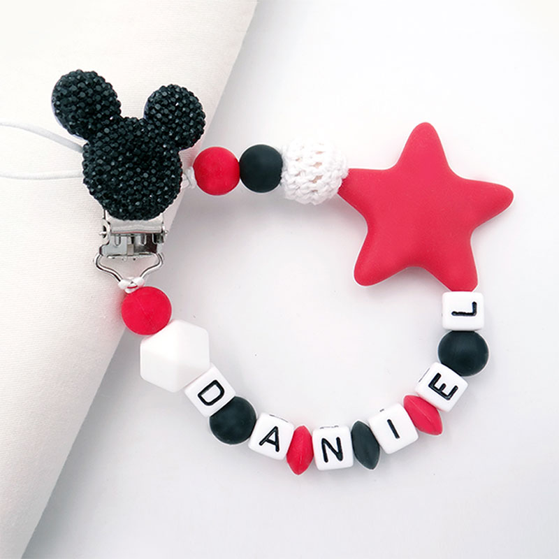 mouse-head-style-handmade-personalized-name-pacifier-clips-silicone-attache-tetine-personnalise-infant-chupetero-personalizado