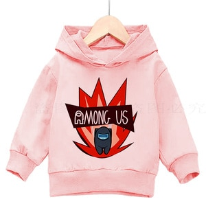 2021New video games Hoodie hot game Among Us boys dress as Sweatshirt girls Pullover winter warm printed top children's clothes