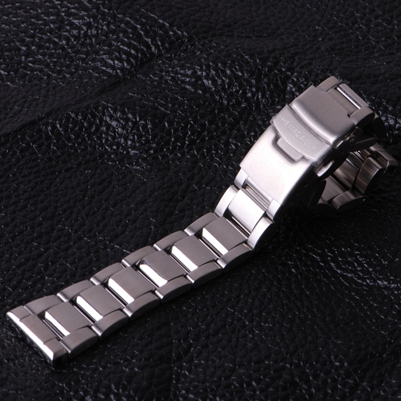 Heimdallr Strap Solid 22mm Width Stainless Steel Tuna SBBN 316L Stainless Diving Watch Band enlarge
