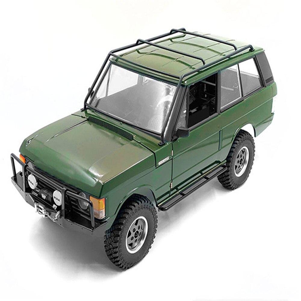 RC Actualización de coche piezas Durable Metal techo Rack acero rollo jaula marco para 1/10 Range Rover