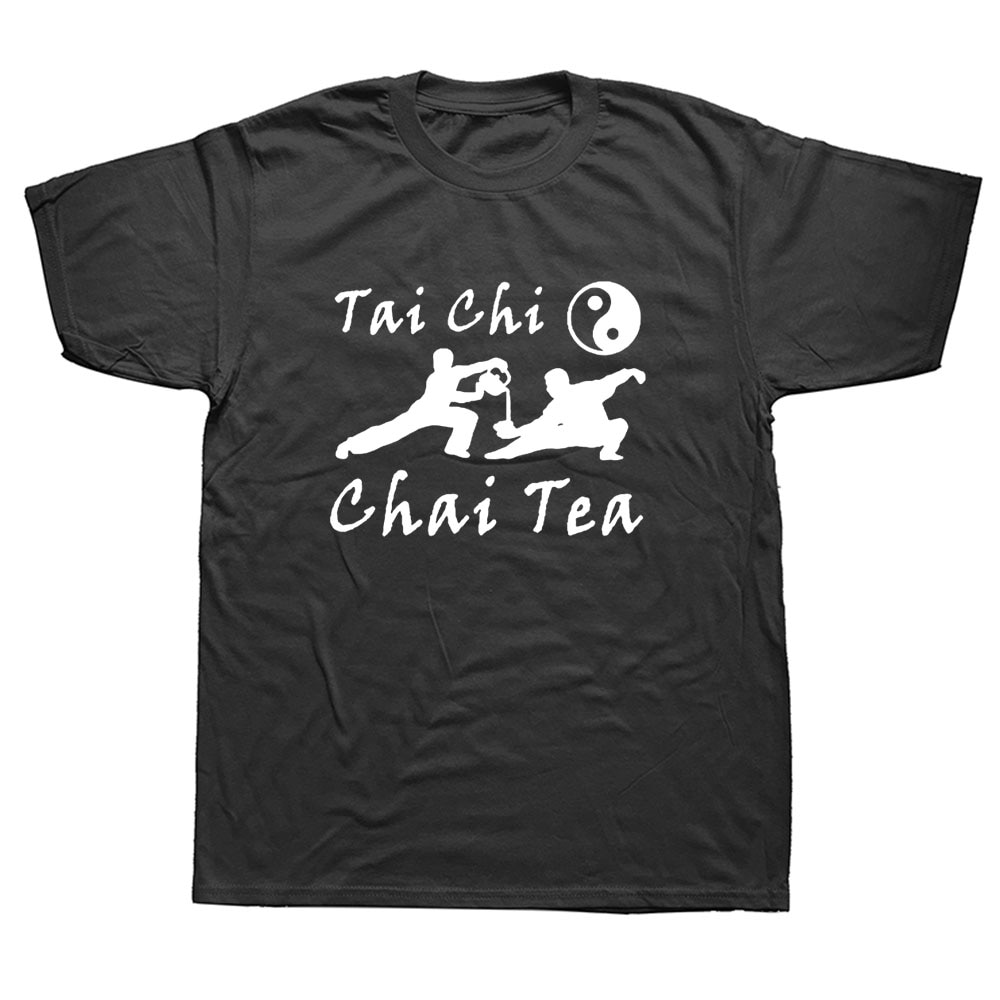 Мужская хлопковая футболка с коротким рукавом, круглым вырезом и принтом чая|Футболки| | АлиЭкспресс