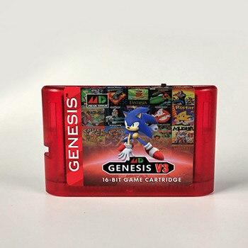 KY Tech-cartucho de juegos MD V3 Pro actualizado, 1200 en 1, para consola MegaDrive, SEGA GENESIS, EE. UU./Japón/Europa