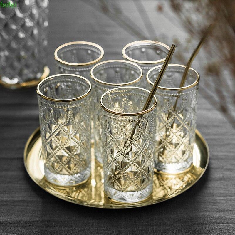 Taza De café De vidrio resistente al calor, vasos De Cristal góticos...