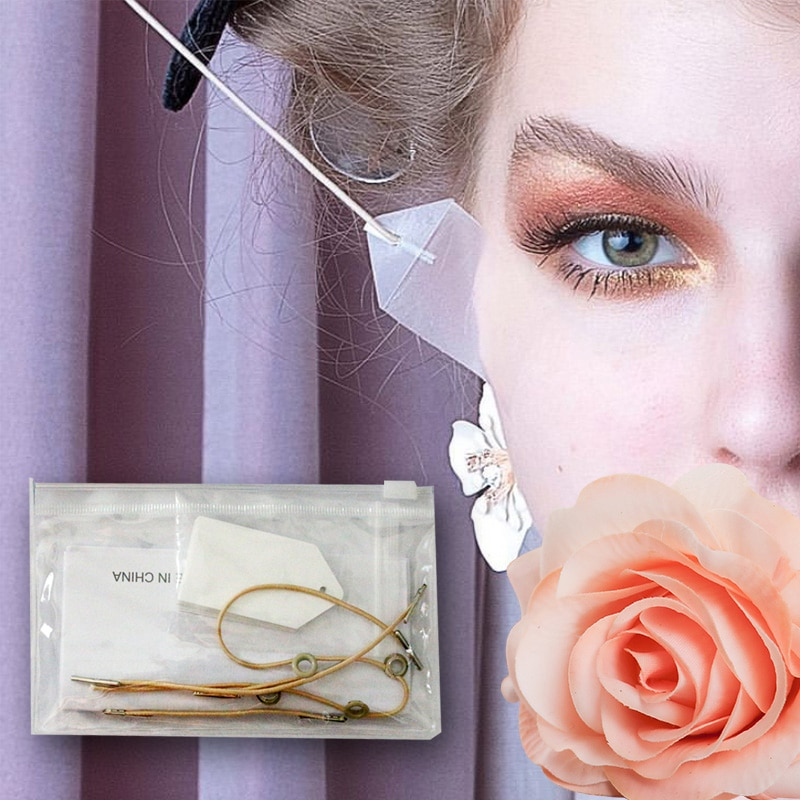 Face Lift Tape Face Lifting Patch Invisible V-line Facelift Patch Tapes and Bands Kit Neck and Eye Double Chin Lift недорого