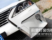 JINGHANG ABS Хромированная передняя + задняя противотуманная фара Накладка для LEXUS RX270 RX350 RX450 RX450H 2012 2013 2014 2015 Бесплатная доставка