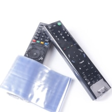 Nouveau 10 pièces clair Film rétractable sac TV boîtier de télécommande couverture climatisation télécommande de protection sac Anti-poussière