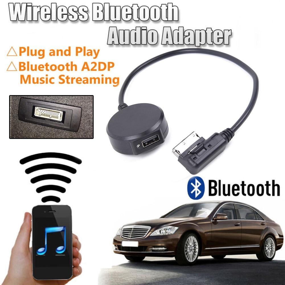 Автомобильный AUX USB беспроводной Bluetooth музыкальный адаптер замены для Mercedes Benz MMI автомобильный интерфейс беспроводной Bluetooth адаптер