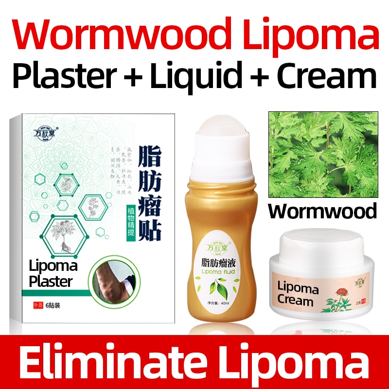 Fat Mass Lipoma Remove Patch Multiple Anti-Tumor Peeling Cream Medically Anti-Tumor Care liquid Heal
