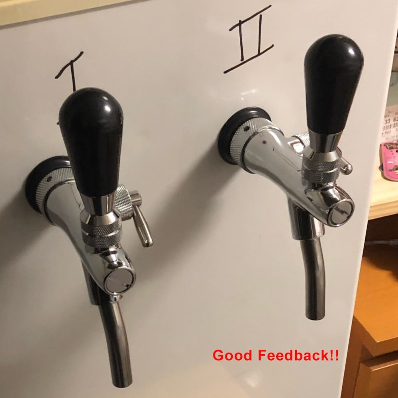 Beer Faucet & Adjustable Tap Beer Shank Chrome Tap Plating With Ball Lock Disconnect Liquid For HomeBrew Cornelius Keg Dispenser