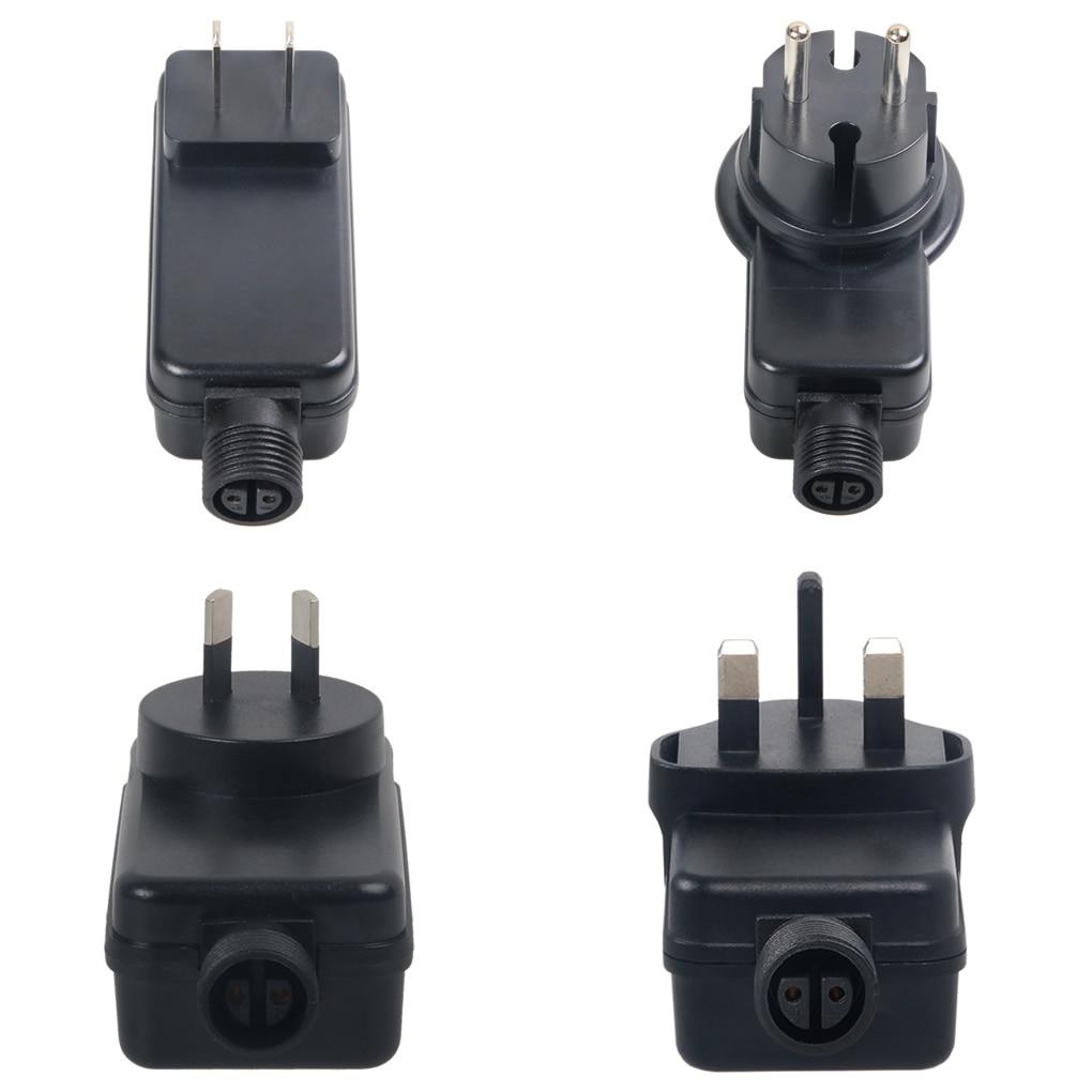AC 220V To DC 12V 0.5A Outdoor Hanging Wall Light Switch Power Supply Adapter Universal Waterproof Adaptador AU EU US GB UK Plug