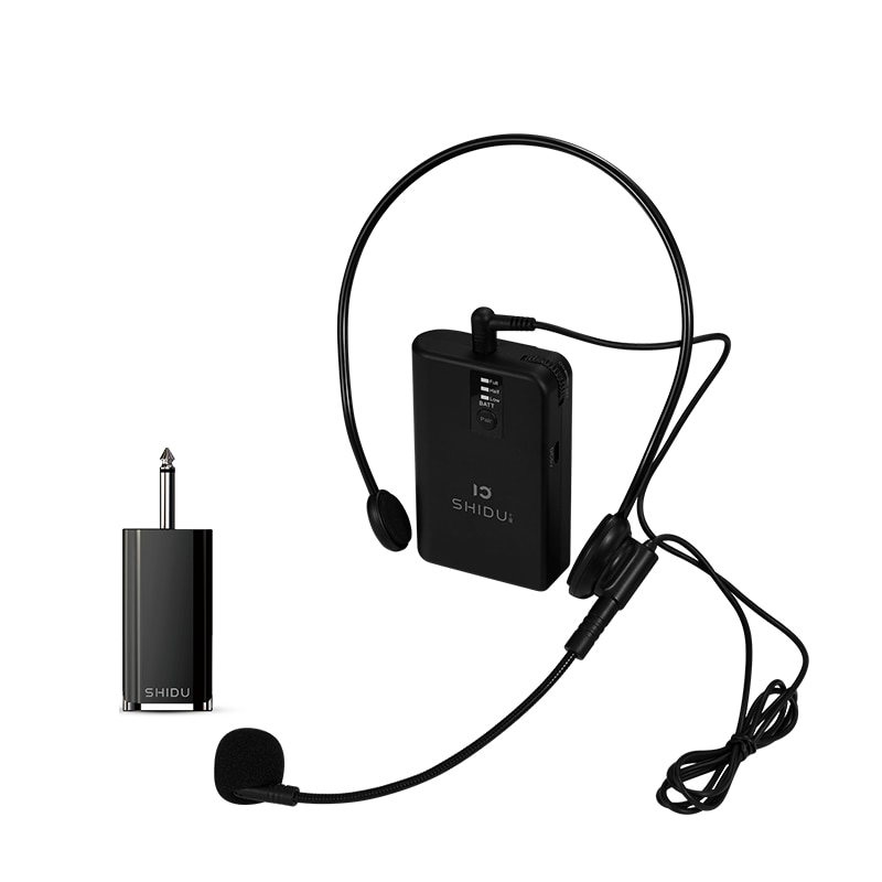 Micrófono profesional Universal, amplificador de Audio Inalámbrico UHF, micrófono profesional