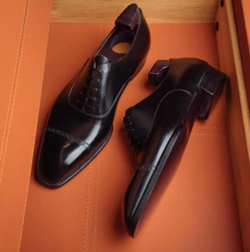 AliExpress - Men Dress Shoes Lace-up Pu Leather Low Heel Fashion Casual Business Derby Shoes Wedding Shoes Zapatos De Hombre 8KH098