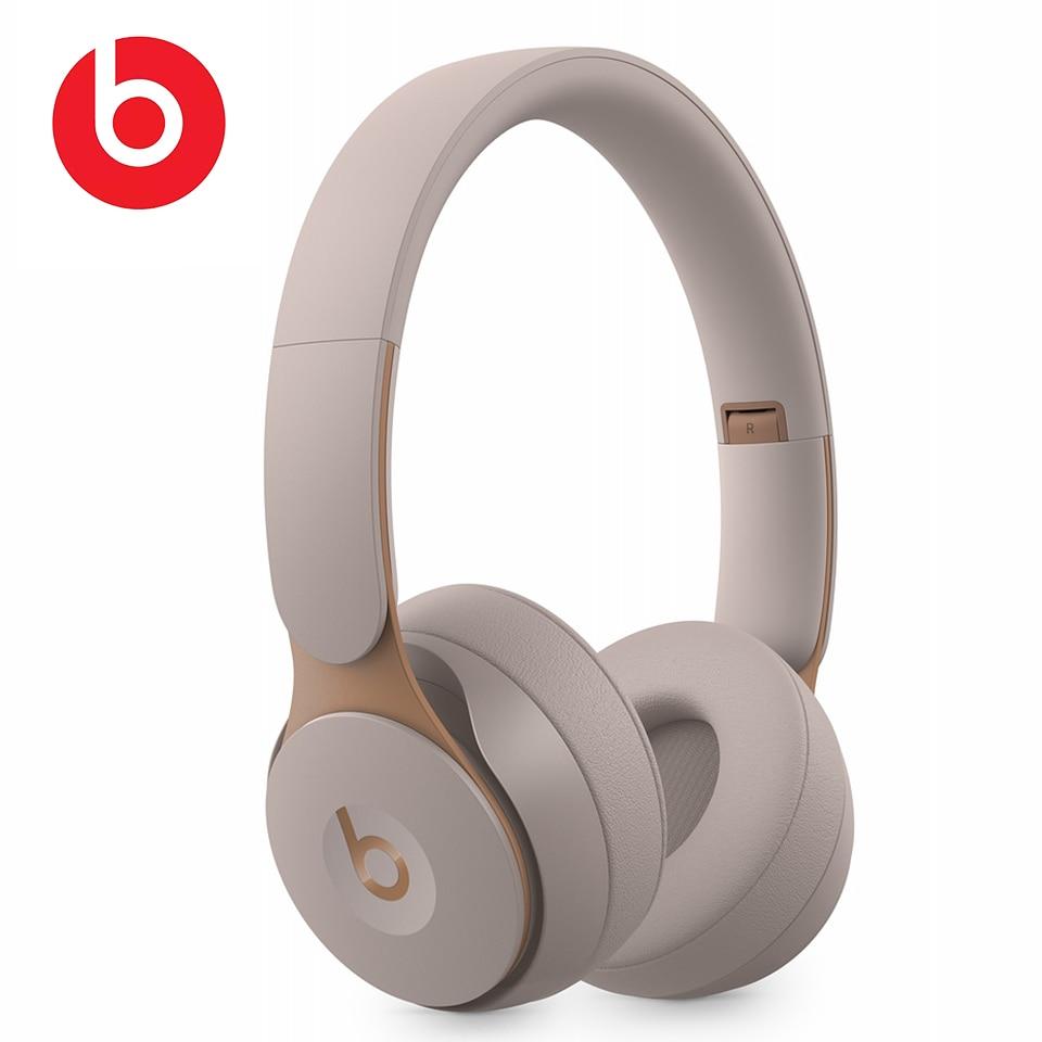 Original Beats Solo Pro Noise Cancelling Wireless Bluetooth ANC Headphones Gaming Sport Headset Foldable Earphone Handsfree Mic