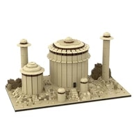 jabbas palace for modular tatooine city house street view series building block diy brick city architecture children toys gift