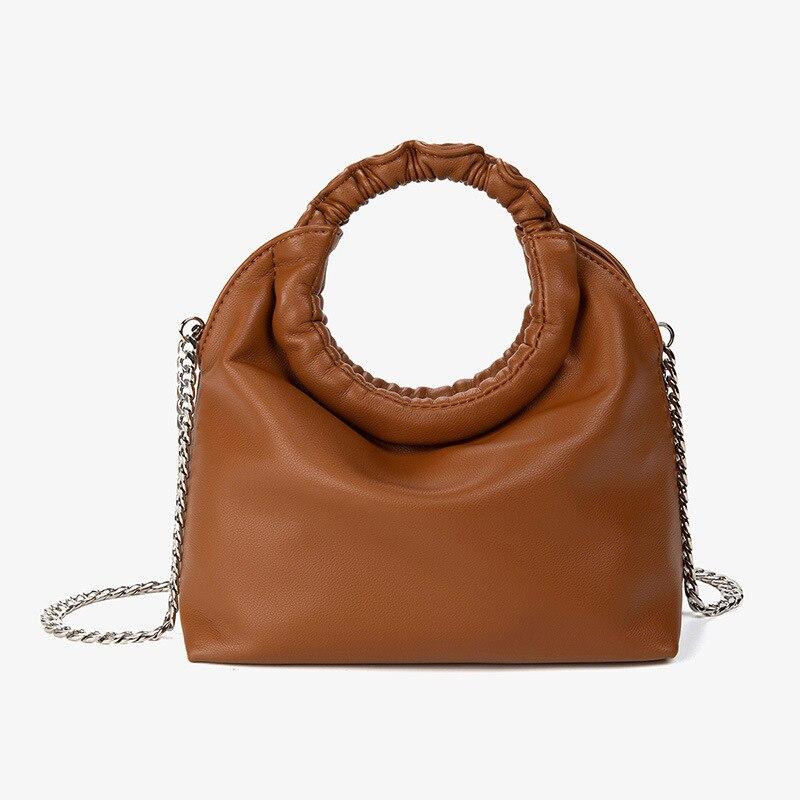 2020 New Women handbag small chain Crossbody Bag for female Messenger bags Lady Shoulder Bag bolsas Sac A Epaule black brown