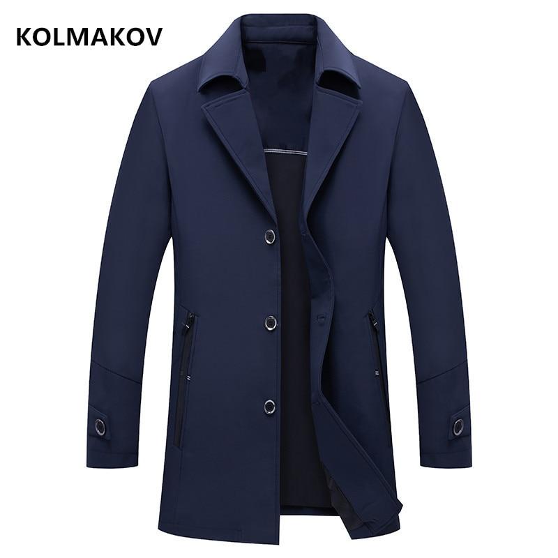 2020 mens spring coat Men's fashion casual jacket Men's high quality  trench coat Classic jackets men business coats size M-4XL