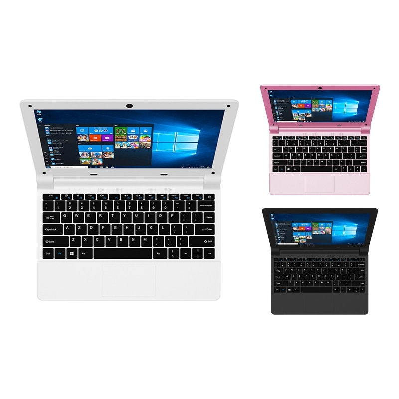 Promo A116 Laptop, Mini 11.6-Inch Quad-Core Ultra-Thin Laptop for Student Office Internet Access