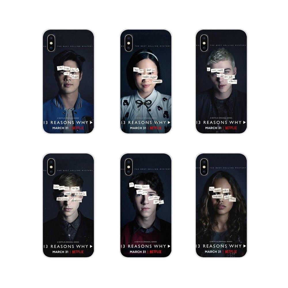 Tv 13 trece razones por Temporada 1 funda de piel de teléfono móvil para Huawei Honor 4C 5C 6X 7 7A 7C 8 9 10 8C 8S 8X 9X 10I 20 Lite Pro