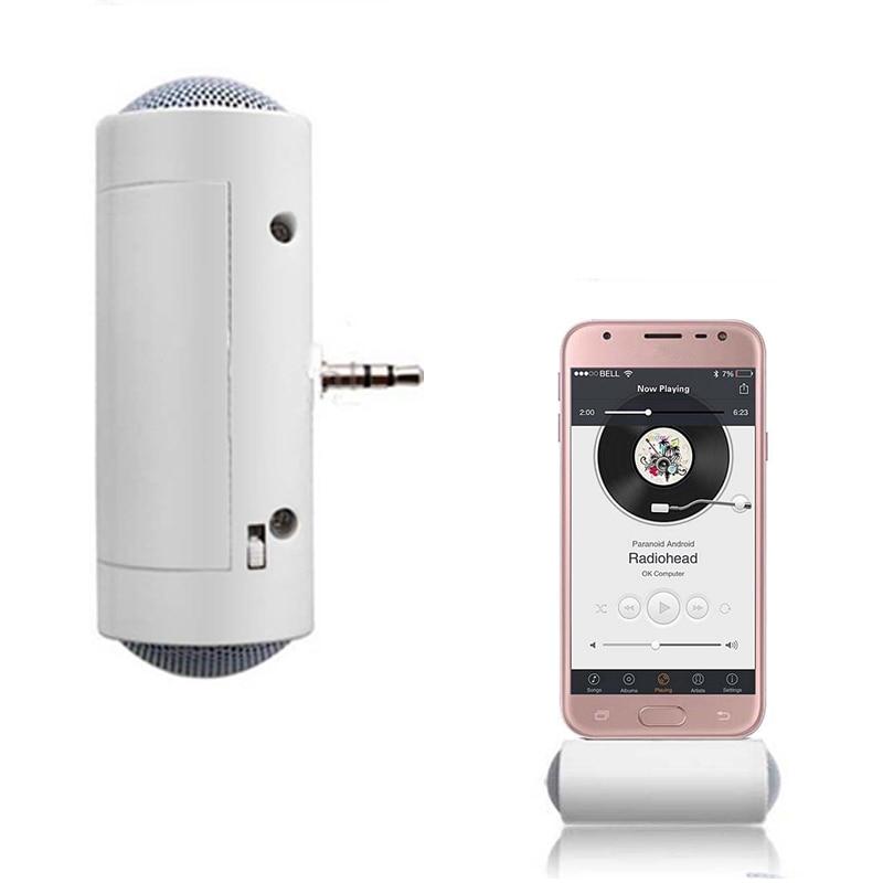 Mini Speaker Stereo 3.5mm Direct Insert Stereo Mini Speaker MP3 Music Player Loudspeaker for Mobile Phone Tablet PC