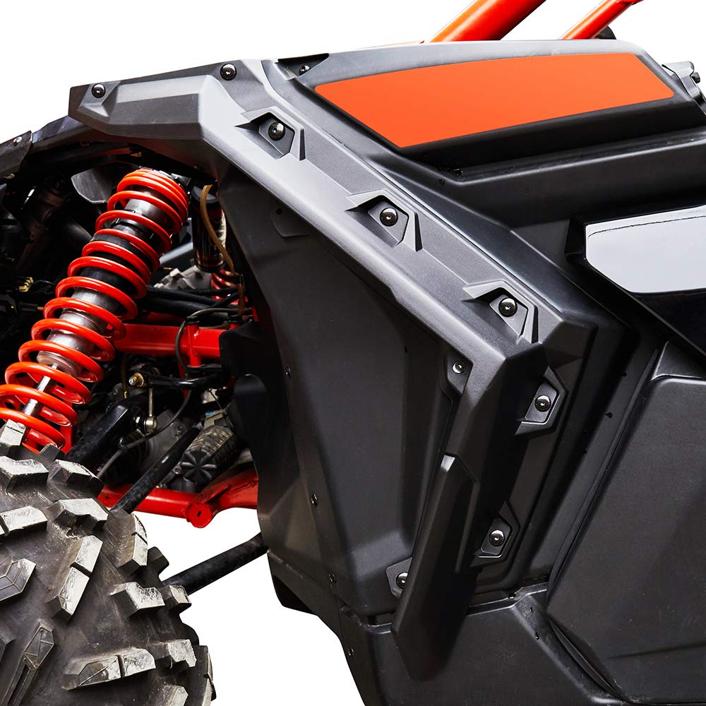 Super Extended Fender Flares UTV Accessories For Can Am Maverick X3 1000 Max Turbo R 2017 2018-2022 715002973 enlarge