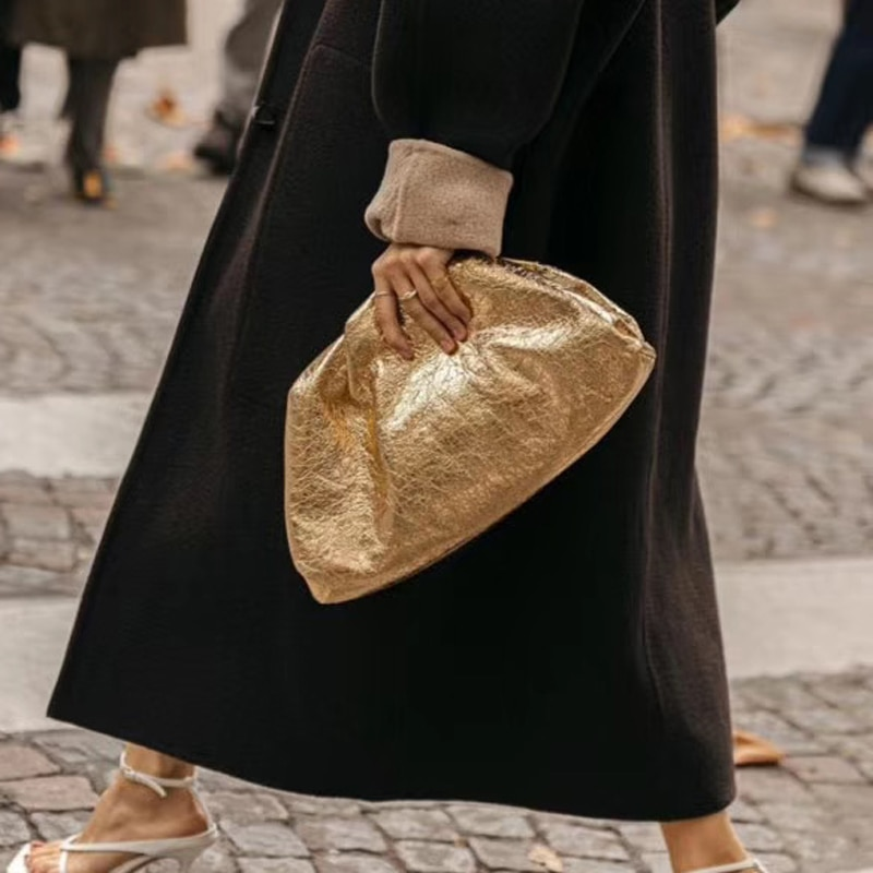 Women Simple Dumplings Messenger Bag Designer Retro 2020 Fashion New Cloud Female Crossbody Shoulder Bag Tide Handbag Clutch Bag
