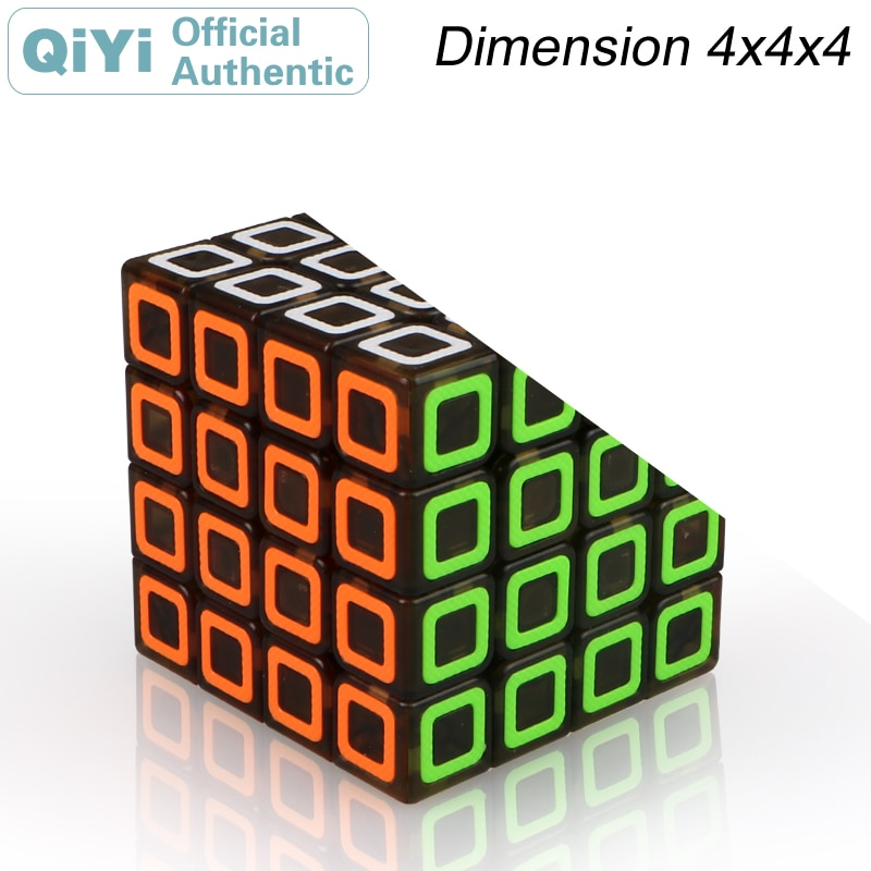 QiYi Dimension 4x4x4 Magic Cube MoFangGe 4x4 Cubo Magico Professional Speed Neo Cube Puzzle Kostka Antistress Toys 4x4x4 qiyi magic cube professional speed puzzle cube educational toys for kids children xmas gifts cubo magico rubic