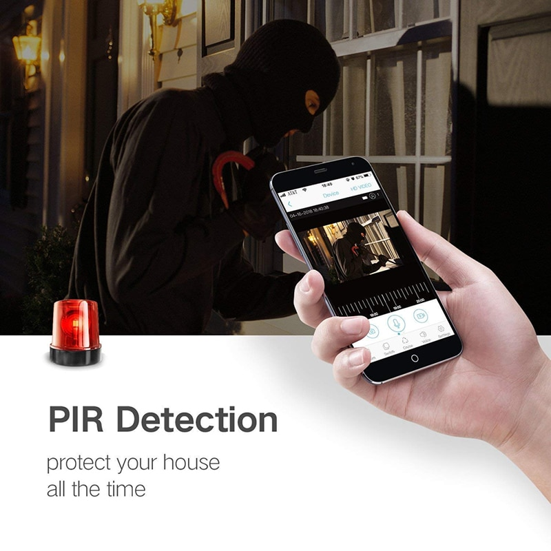 Ring Video Doorbell Wireless Intercom Ring Video Doorbell Smart WiFi Video Doorbell Electronic Doorman With Camera Bell Doorbell enlarge