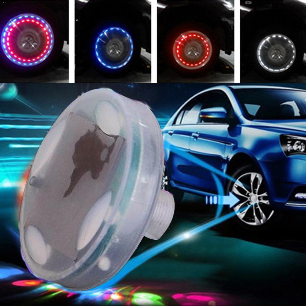 15 modos energía Solar LED COCHE Flash automático rueda neumático lámpara luz neón válvula Cap H9L2