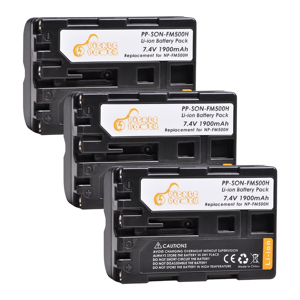 NP-FM500H NP FM500H batería para Sony Alpha A58 DSLR-A350A300/A350/A450/A500/A550/A560/A580/A700/A99/A850 SLT-A57