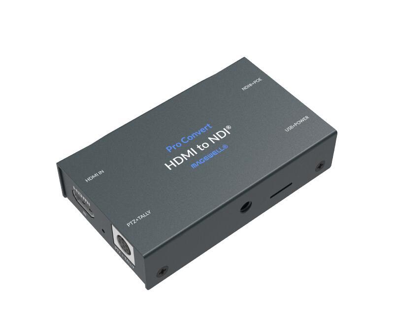 محول HDMI TX 2048x1200 60fps 4:2:2 8 بت من Magewell Pro مشفر NDI