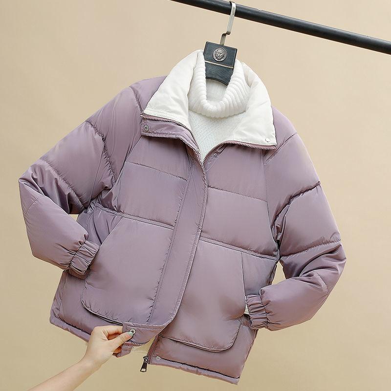Женская Стеганая куртка, новинка зима 2021, короткая стеганая куртка, женская зимняя одежда, стеганая куртка, модная стеганая куртка для женщи...