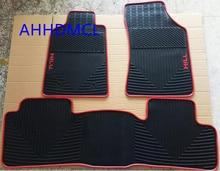 Voiture tapis en caoutchouc tapis de sol pieds tampons tapis pour Hilux 2012 2013 2014 2015 conduite à gauche