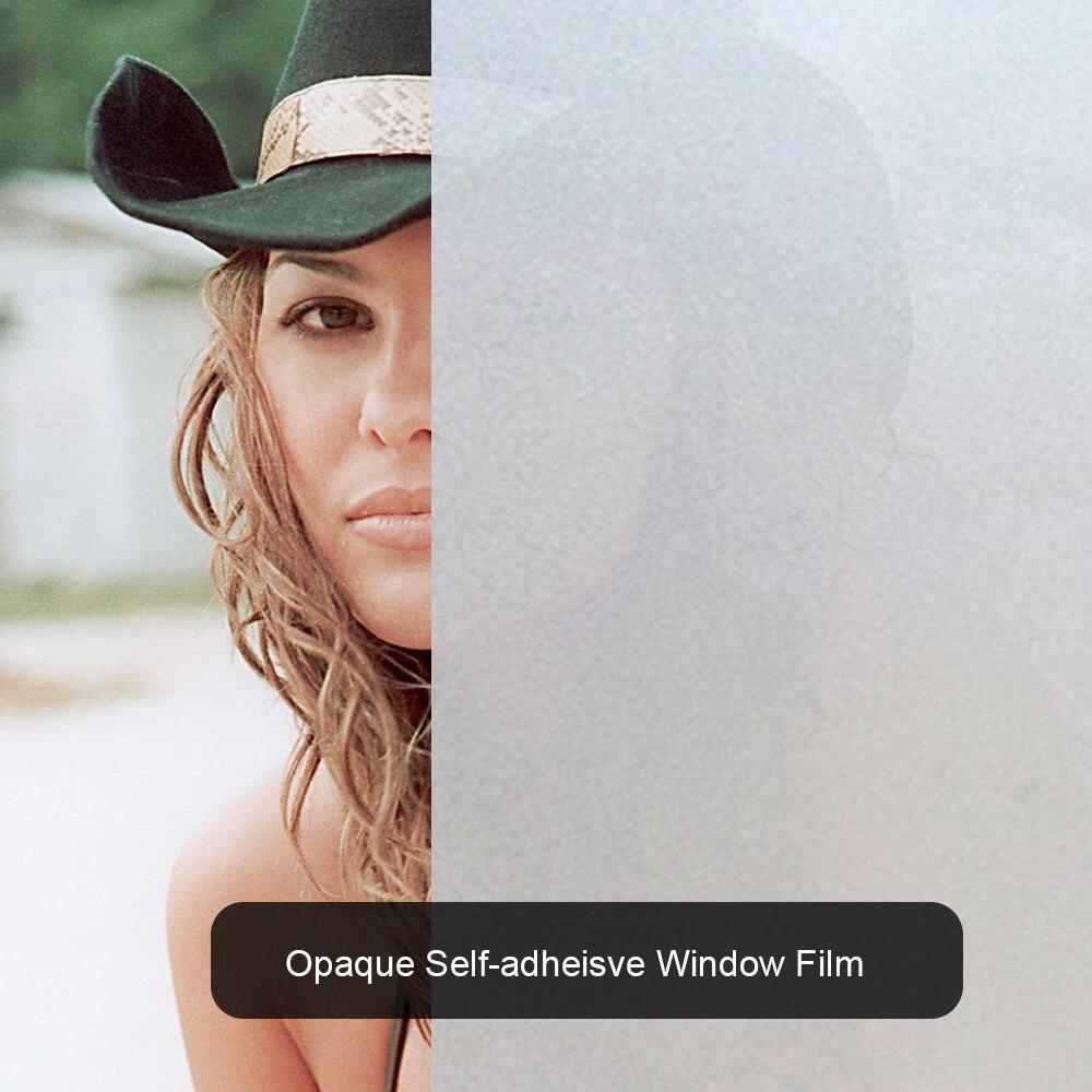 Filme de privacidade opaque de tamanhos múltiplos, adesivos autoadesivos foscos, para janela, à prova d água, para decoração da janela, htv, vinil