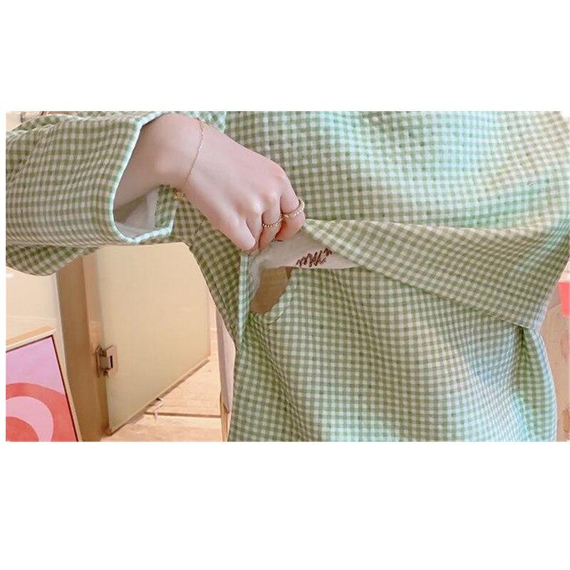 High Quality Nursing Maternity Clothes Winter Cotton Pajamas for Pregnancy Women Coat+Jacket+Pant 3pcs Maternity Sleepwear D0050 enlarge