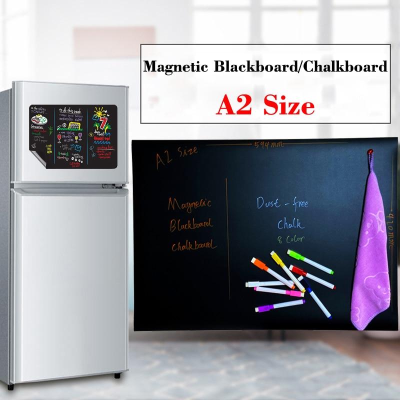 A2 Размеры магнитная доска меню доска для мела календарь стикер на холодильник беспылевая сумка магнитная доска для детей Классная доска