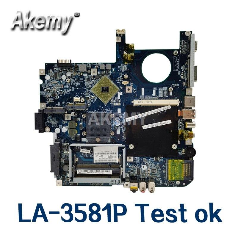 Материнская плата для ноутбука For Acer 5520 5520G 5720 LA-3581P ICW50 MBAJ702003 5520G 5720G Mainboard