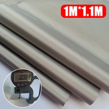 3pcs 1m*1.1m EMF RF RFID Shielding Fabric Anti radiation Blocking Conductive Soft Grounding Earthing DIY Shielding Material