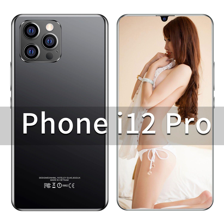 Winter Gift i12 Pro Smartphone 5G 4G LTE Deca Core 6.7Inch 4K HD Screen 6800mAh Battery Unlocking 32