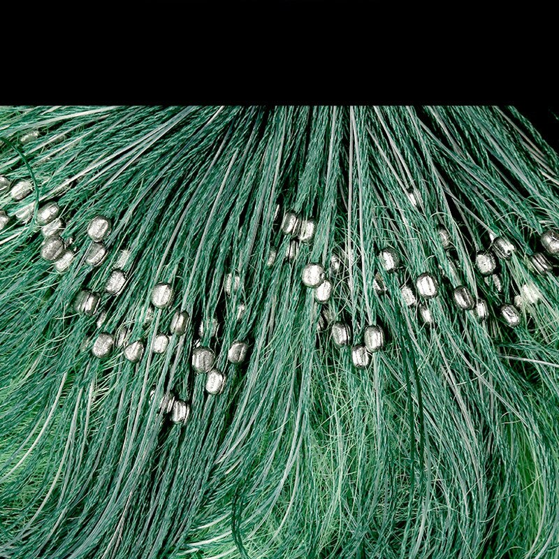 Fishing Net  100m 3 Layers Monofilament Fishing Gill Net with Float Fishing Network Mesh Trap Net Netting Tackle enlarge