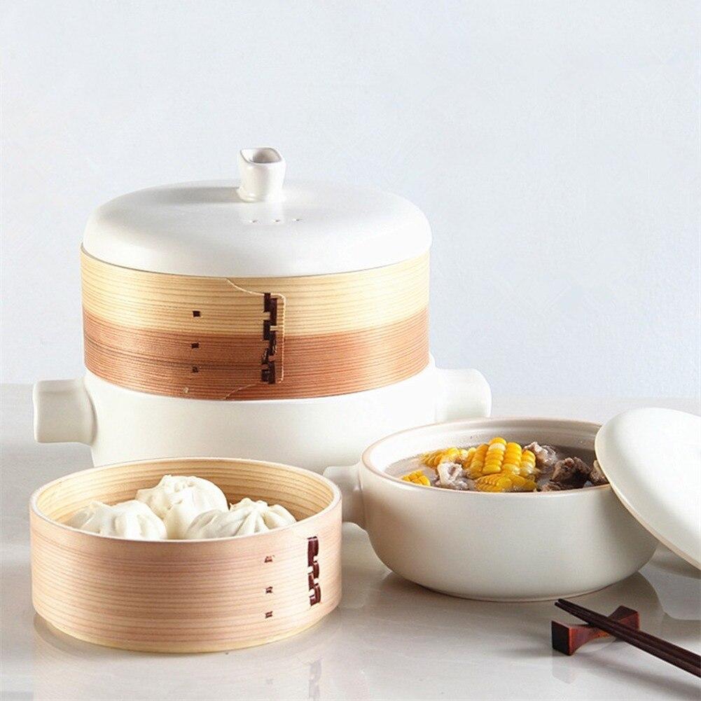 Caldeira de Cerâmica Resistente ao Calor Estilos de Cerâmica Feita à Mão para Despesas Familiares para Cozinhar Múltiplos Classy