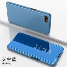 Thouport Mirror Case Pour OPPO Realme 5 3 Pro flip cas Livre de protection en plastique Shell + Housse en cuir Realme C3 C2 X 5 Case Pro